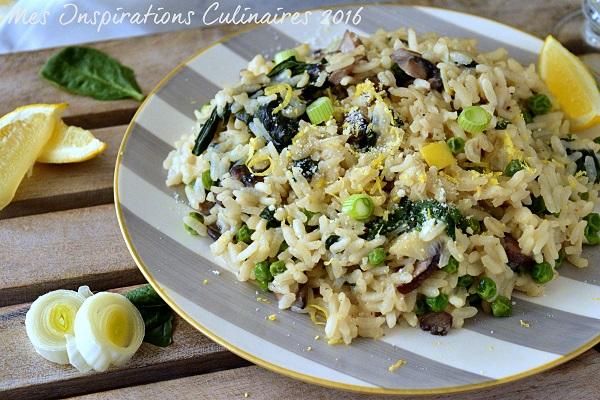 risotto de legumes verts 1