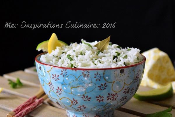 riz au citron et coriandre