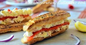 Eclair tartare de saumon et pomme chantilly camembert 1