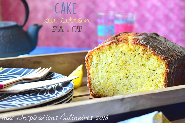 cake citron pavot facile 1