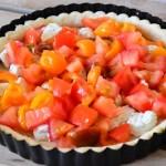 deposer le chevre et la tomate