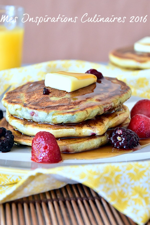 pancake au babeurre lben 1