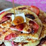 pancakes aux fraises moelleux 1