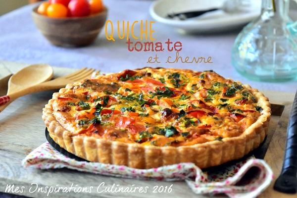 quiche tomate et chevre 1