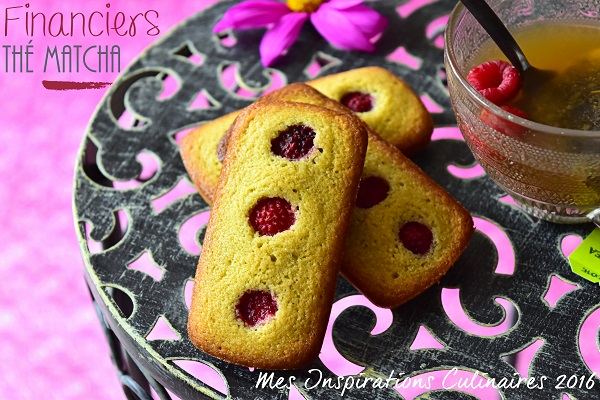 recette financier green the matcha 1