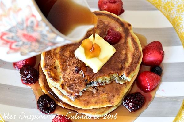 recette pancakes au lben 1