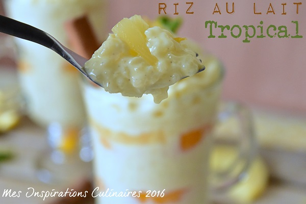 Recette Riz au Lait à l'ananas