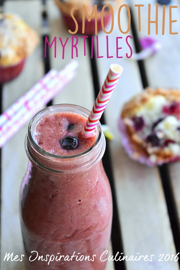 smoothie aux myrtilles 1