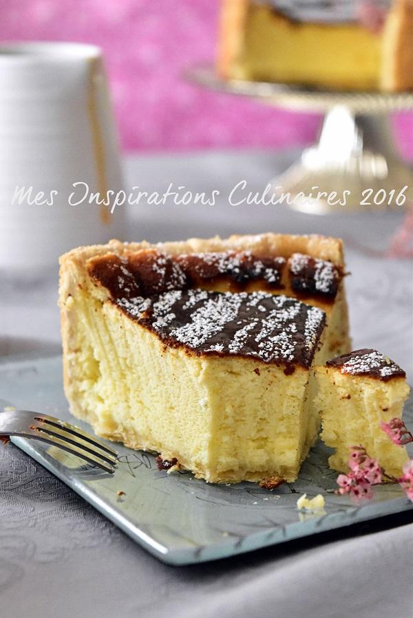 tarte fromage blanc alsacienne Käsküeche