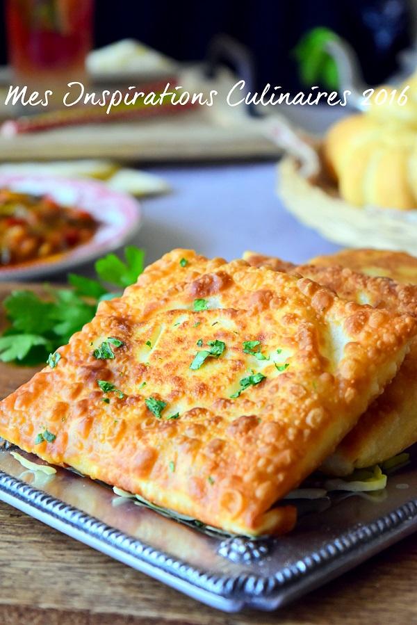 Bourek ou Brick Annabi ( viande hachée et oeuf )