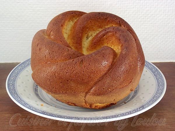 cake jaune d'oeuf