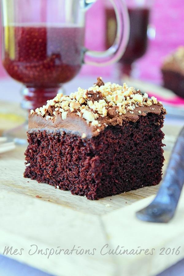 Gâteau au chocolat sans oeufs (recette facile)   Le Blog ...