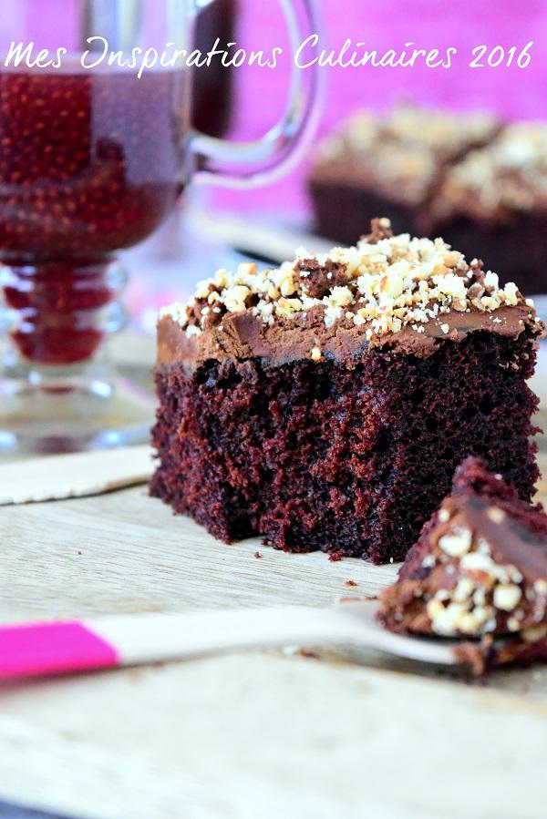 Gâteau au chocolat sans oeufs facile