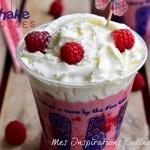 milkshake recette aux frmaboise 1