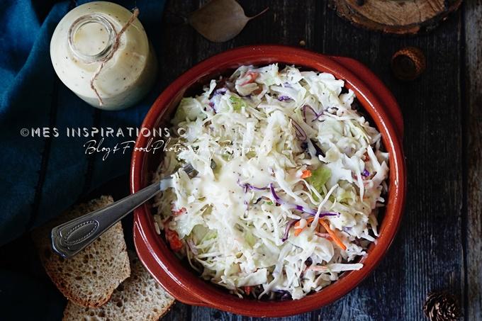 Le coleslaw salade de chou