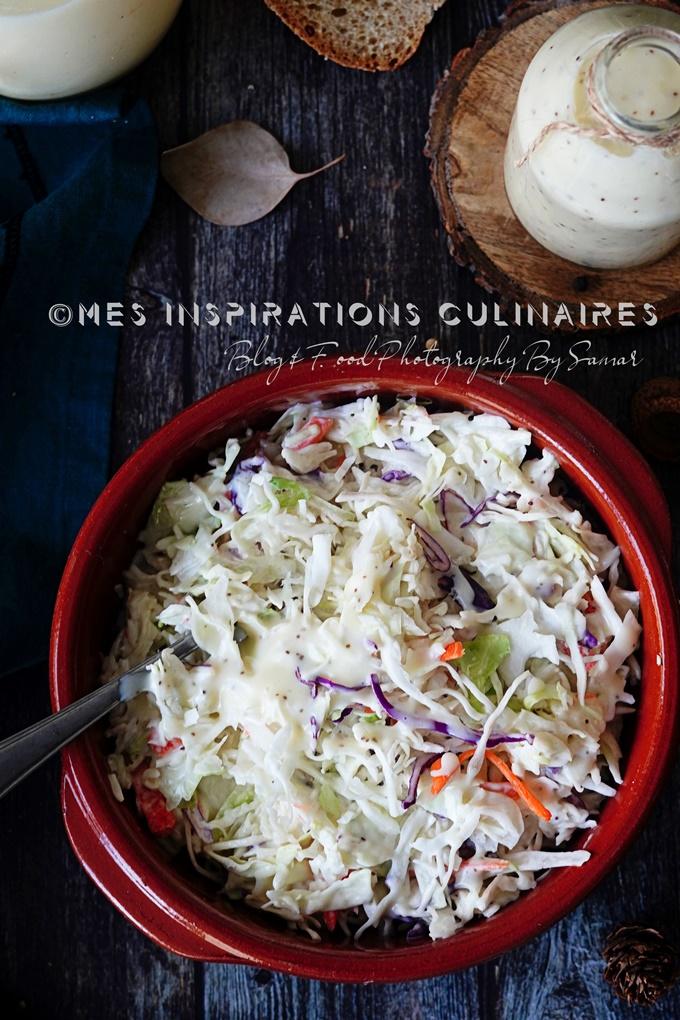 Le coleslaw recette maison
