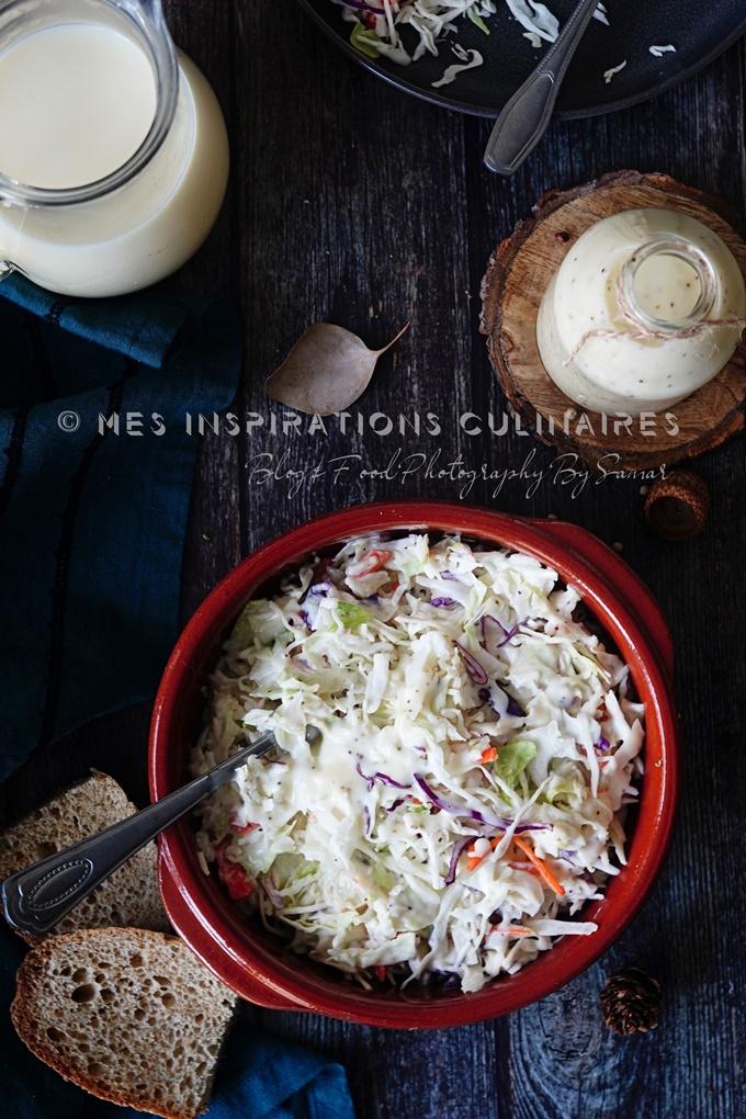 Salade de chou ou le coleslaw