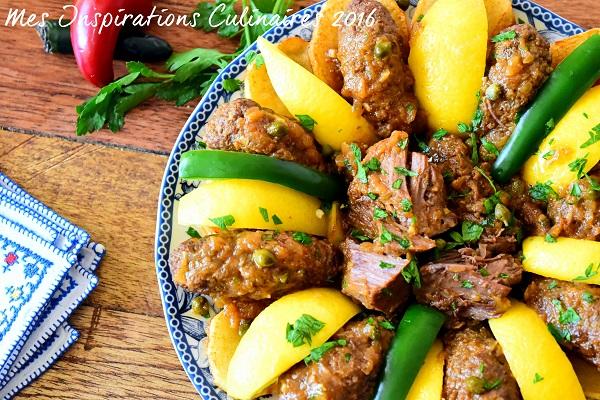 Tajine merguez cuisine tunisienne le blog cuisine de samar - Recette cuisine couscous tunisien ...