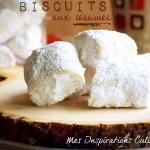 biscuits aux sesame et fleur d'oranger 1