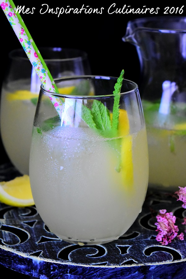 citronnade ou limonade au citron 1