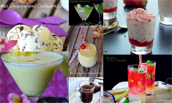 Desserts boisson et jus ramadan 2016