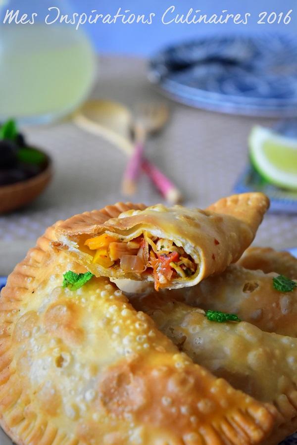 Recette Empanadas au poulet frits