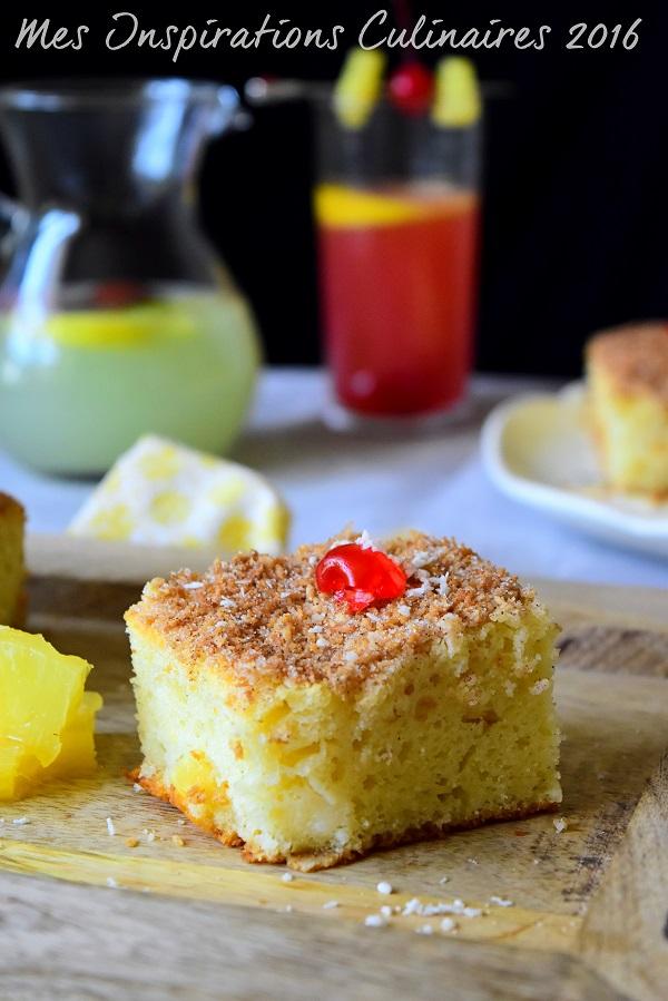 Gâteau à l'ananas moelleux