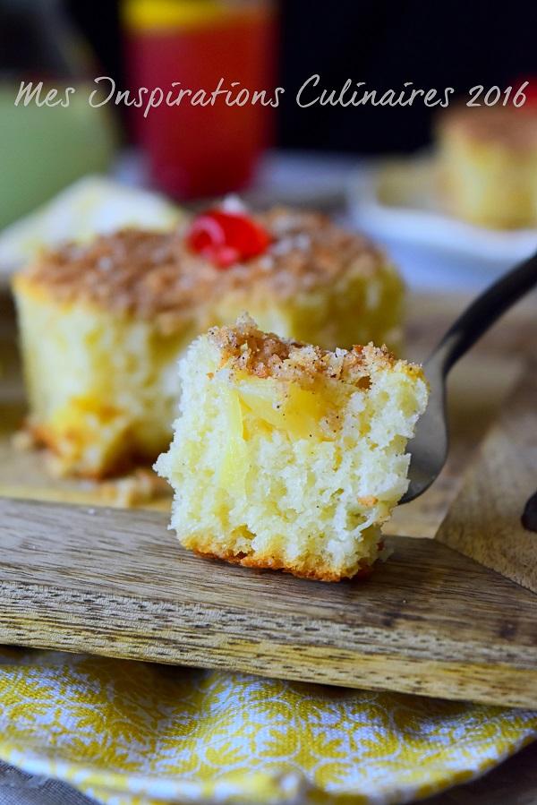 Gâteau à l'ananas moelleux et facile