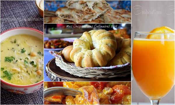 Menu ftour et recettes Ramadan 2016