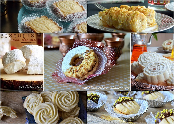 Gâteaux Algériens 2017 Traditionnels et modernes