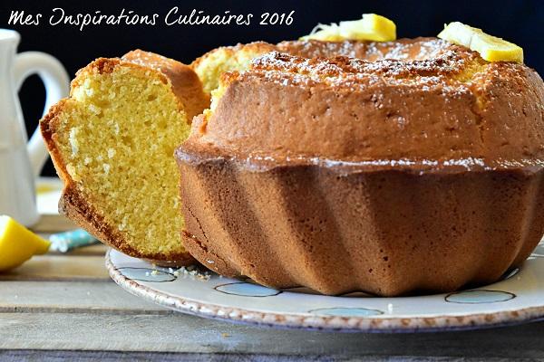 Gâteau au yaourt facile moelleux