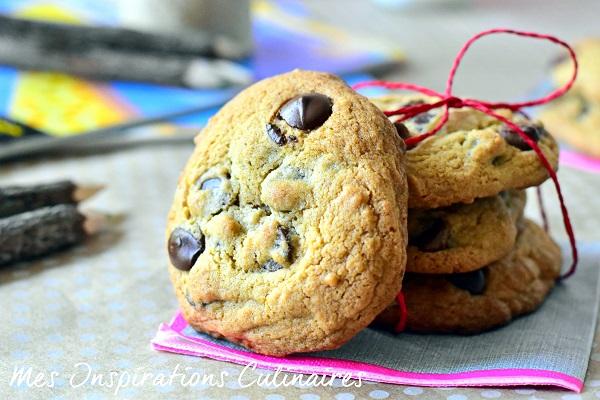 Cookies américains aux pepites de chocolat