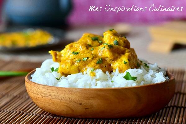 recette poulet au curry le blog cuisine de samar. Black Bedroom Furniture Sets. Home Design Ideas