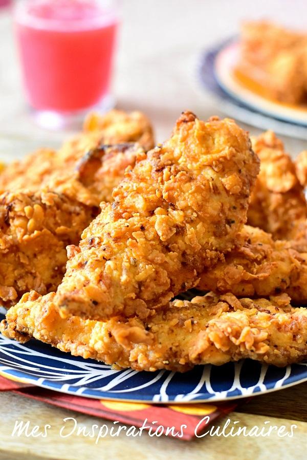 Recette Crispy Tenders KFC