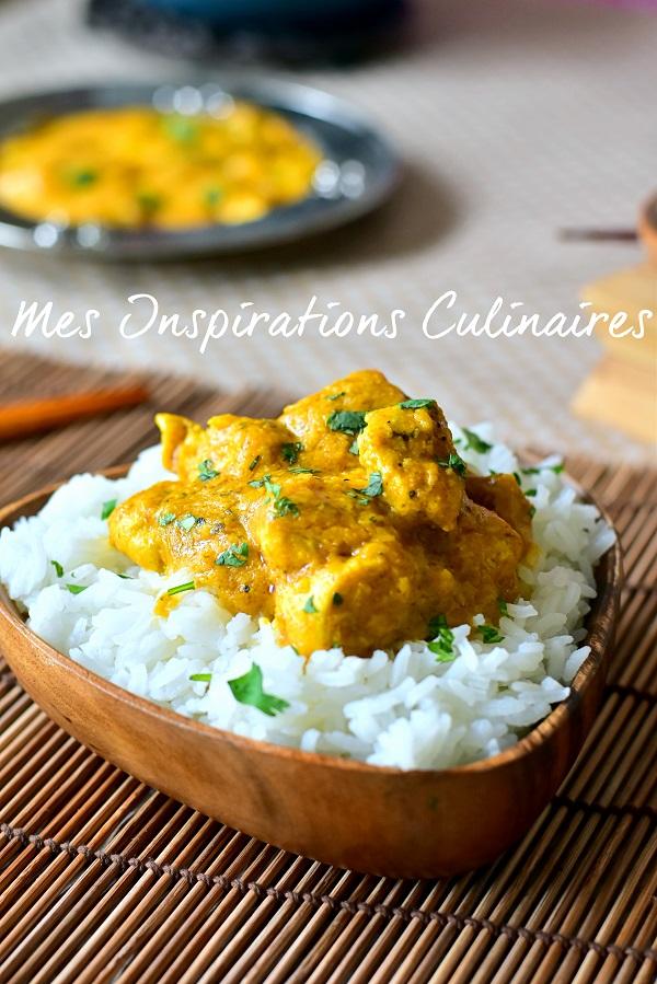 recette poulet au curry indien 1
