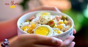 salade de riz au thon 1