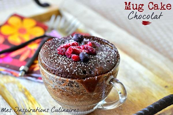 Recette Mug Cake Confiture