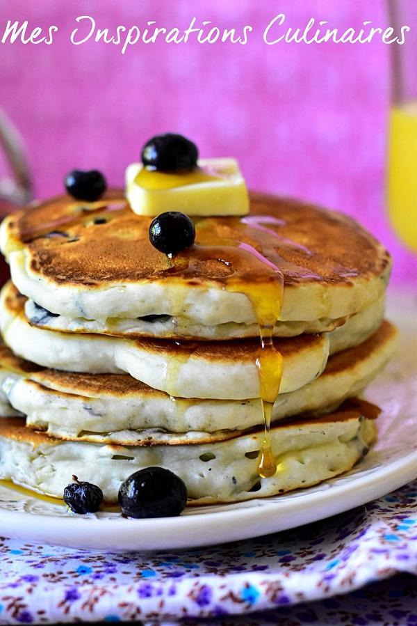 Pancakes sans oeufs, sans lait sans beurre