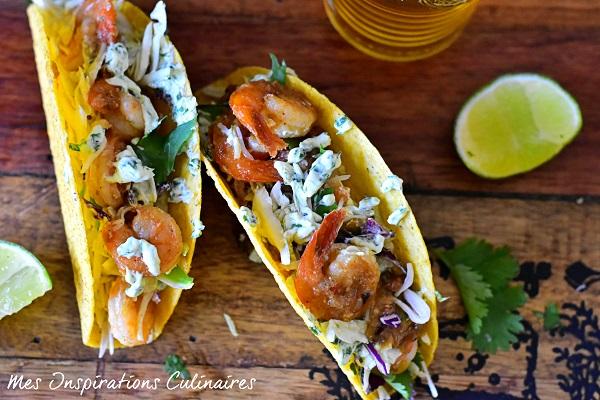 Tacos aux crevettes