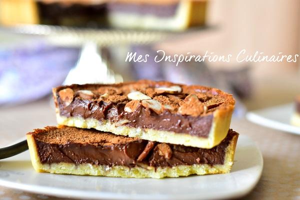 tarte au chocolat recette conticini le blog cuisine de samar. Black Bedroom Furniture Sets. Home Design Ideas