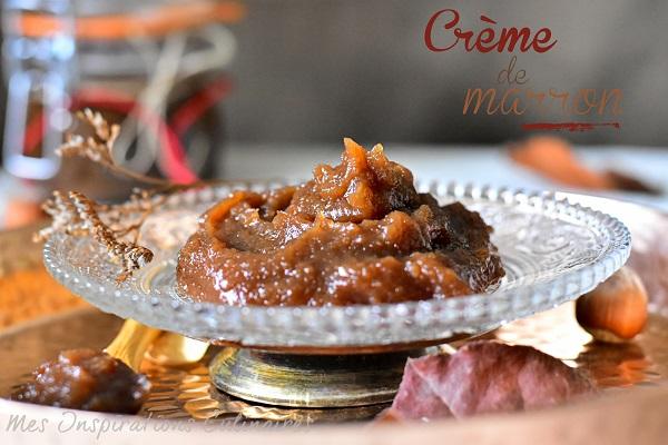 Crème de marrons : recette maison