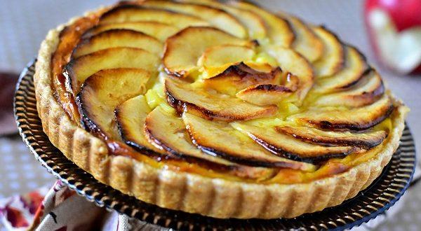 Tarte Aux Pommes 224 La Cr 232 Me P 226 Tissi 232 Re Le Blog Cuisine
