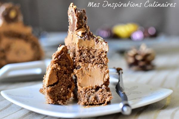 Gâteau roulé nutella