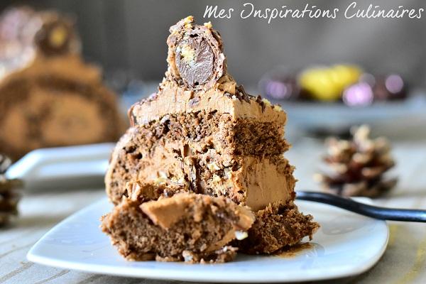 Gâteau roulé nutella et confiture de lait dulce de leche
