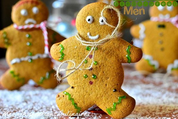 Bonhomme en pain d'épices : recette Gingerbread men