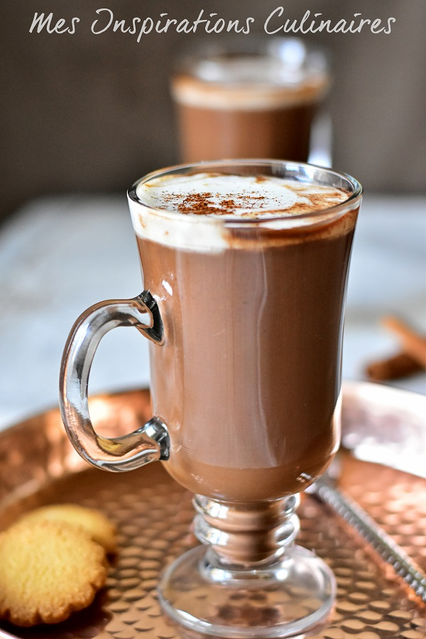 chocolat chaud boisson d'hiver