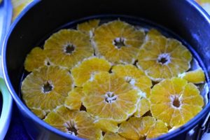 disposer les oranges
