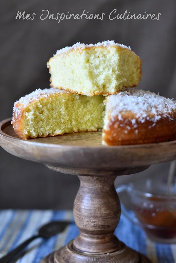 recette cake a la noix de coco moelleux