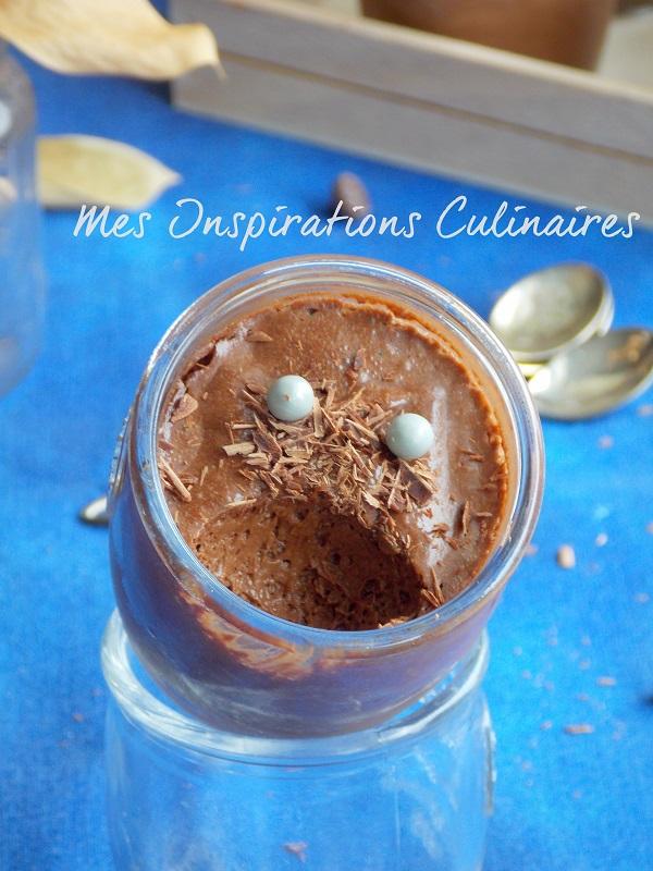 Mousse au chocolat sans oeufs (dessert vegan)