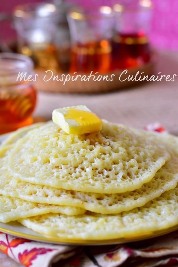 Baghrir express recette au blender